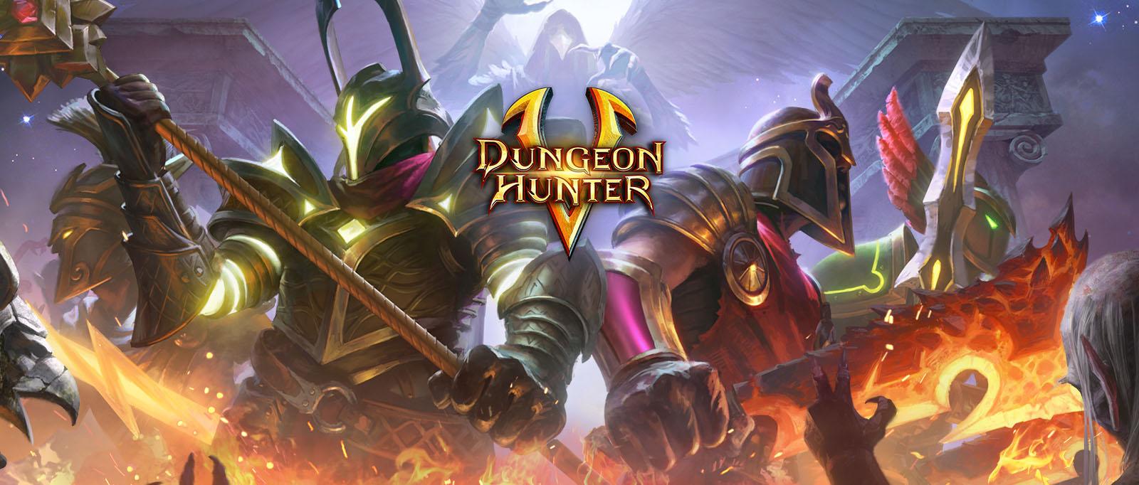 Dòng game miễn phí Dungeon Hunter